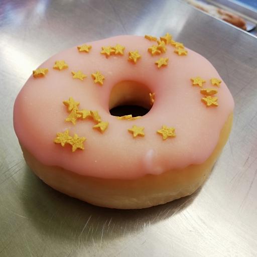 Donut fraise stars